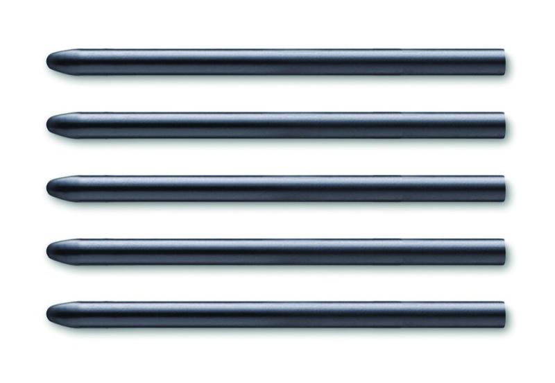 Intuos4 Standard Black Pen Nibs (5 pcs) (Intuos 5 compatible)