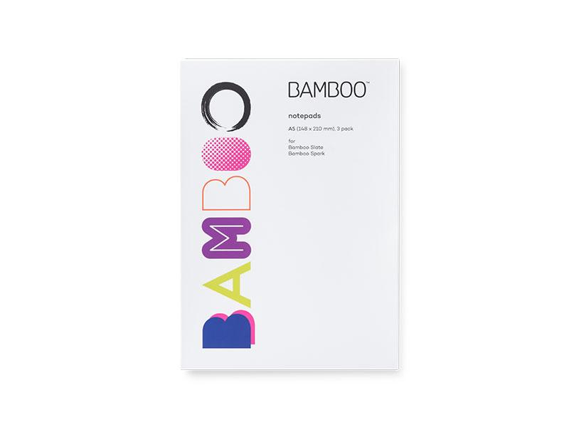Wacom Bamboo Notepad A5 & A4