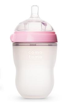Comotomo - 寬口矽膠母乳實感奶樽[150ml/250ml] [2色][2款]