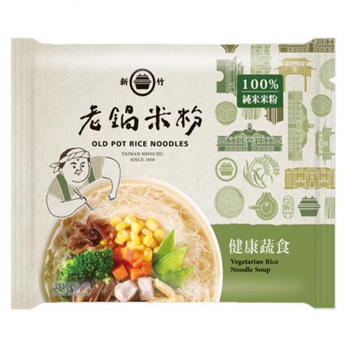 老鍋米粉 純米健康蔬食風味湯米粉(純素)(4包)