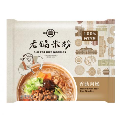 老鍋米粉 純米香菇肉燥風味湯米粉 60g (4包)