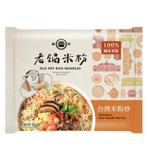 老鍋米粉 純米台灣米粉炒 70g (4包)