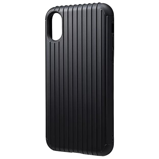 """【4色】GRAMAS COLORS """"Rib"""" Hybrid case for iPhone XS Max"""