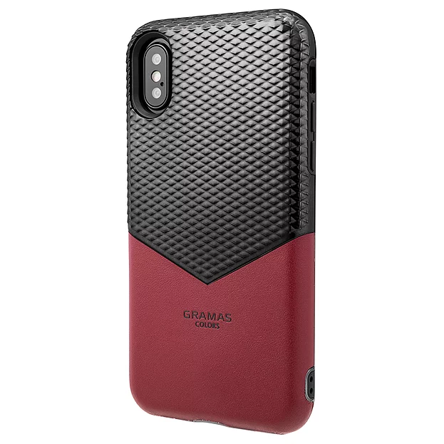 """【3色】GRAMAS COLORS """"Edge"""" Hybrid Case for iPhone X/XS/XR"""