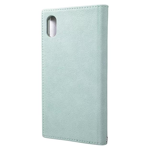 """【4色】GRAMAS FEMME """"Colo"""" PU Leather Book Case for iPhone XS Max"""