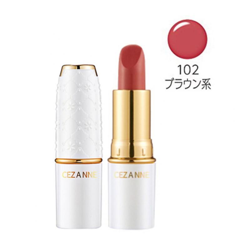 CEZANNE - 潤彩唇膏 4.2g #102