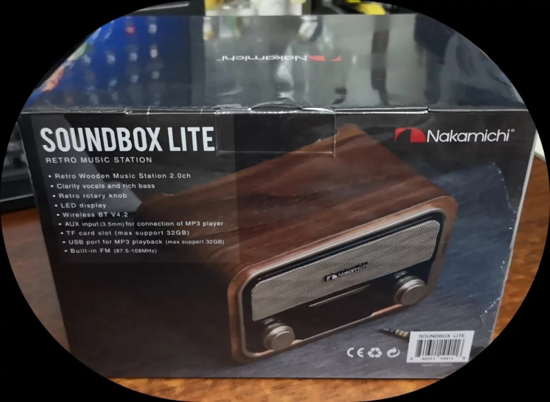 【香港行貨】日本 Nakamichi SoundBox LITE BT Speaker 4合1播放器 藍牙喇叭