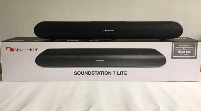 【香港行貨】日本 Nakamichi Soundstation 7LITE Soundbar 光纖/藍牙/3.5mm頭/HDMI/USB 5款接駁方法