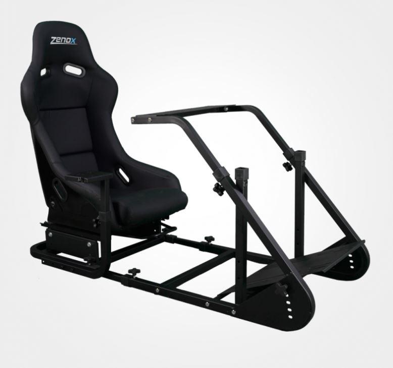 Zenox ProAM Spec Simulator Rig with Bucket Seat