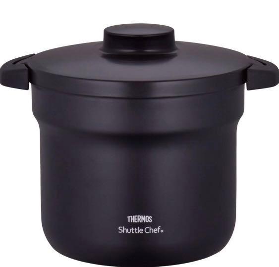 THERMOS KBJ-4500 真空保溫燜燒鍋 4.3L [黑色]