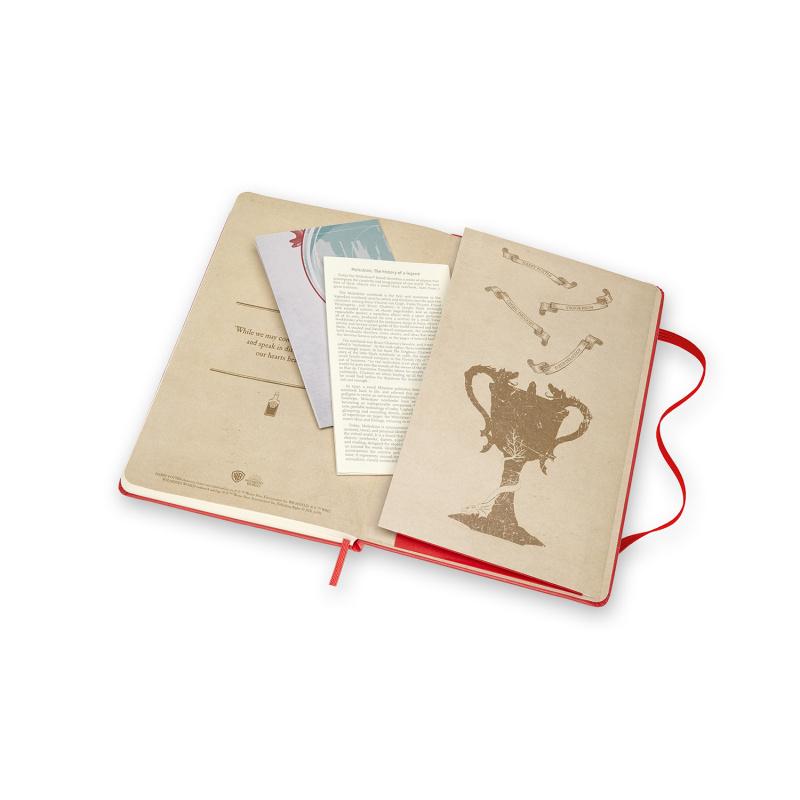 MOLESKINE 哈利波特限定版筆記本 記事本 橫間款 [七款]