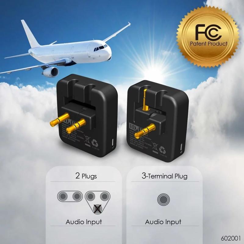 美國iDARS Bluetooth Transmitter 飛機專用藍牙發射器