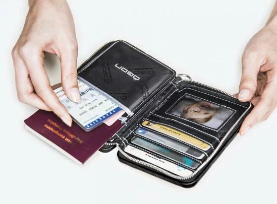 【多色】法國OGON Quilted Passport 護照證件包