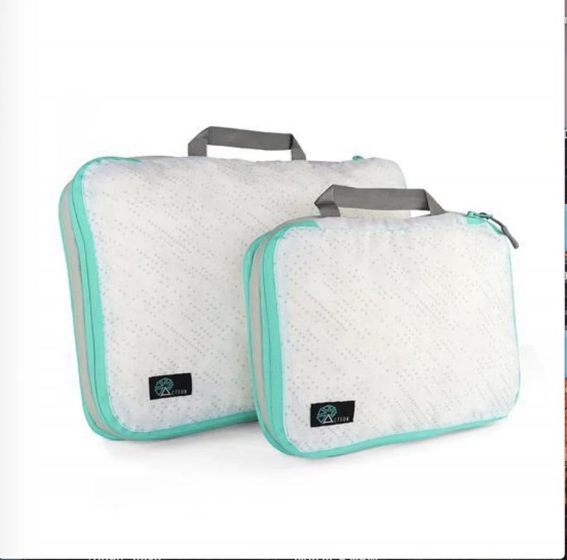 【4色】美國Acteon 旅行壓縮收納袋 (一套兩件) 現貨
