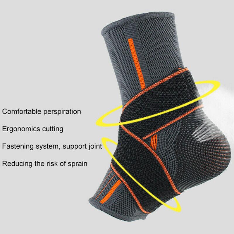 拗柴救星-護腳踝神器護足踝 [1對][2尺寸]