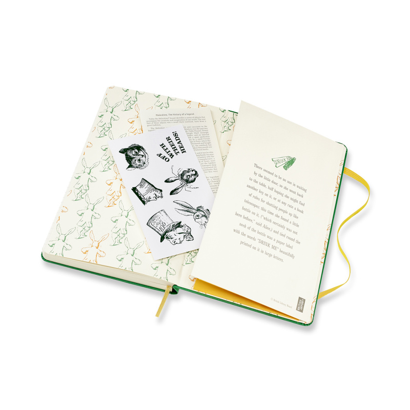 Moleskine 2020 全年12個月愛麗絲夢遊仙境手帳 [2款]
