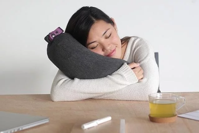 Aubergine Pillow 便攜式旅行充氣枕