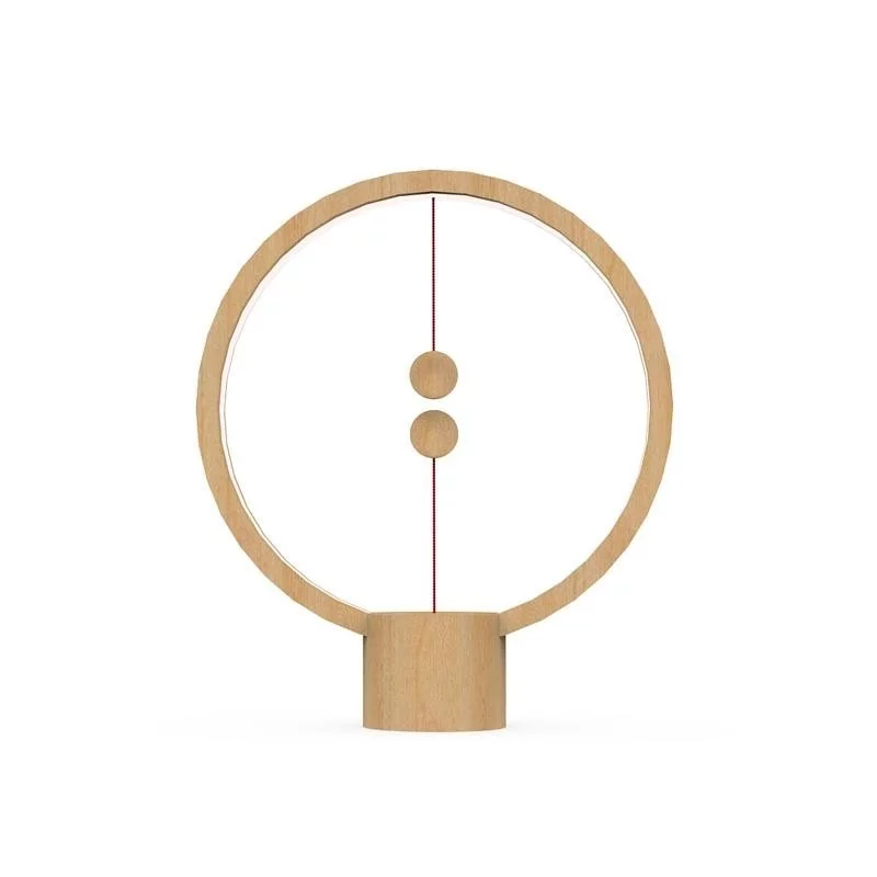 Heng Balance Lamp 平衡原木木球磁吸LED台燈