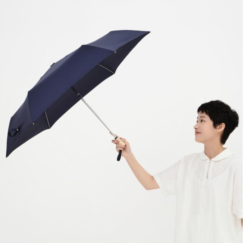 TIOHOH - 超潑水自動雨傘 (短傘 木柄款)