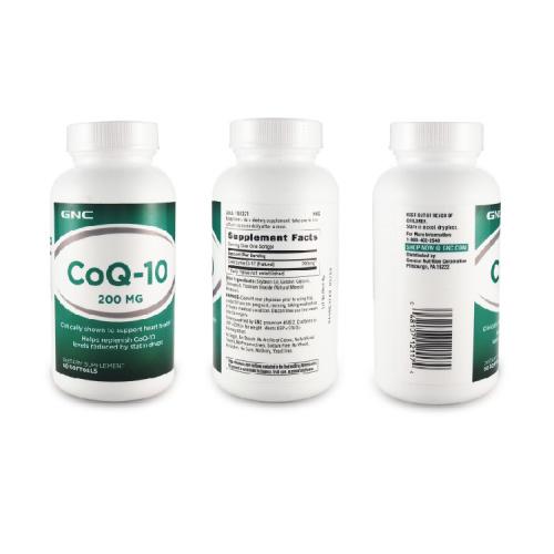 GNC Q10 200mg 輔酵素精華 (200 毫克) [60粒]