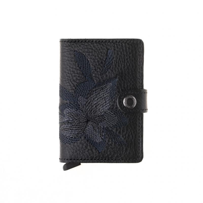 SECRID-Miniwallet-Stitch Magnolia
