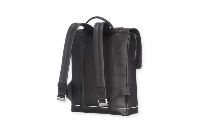 Moleskine Lineage Leather Backpack Blk 經典皮革背包 [購買後7天後寄/取貨]