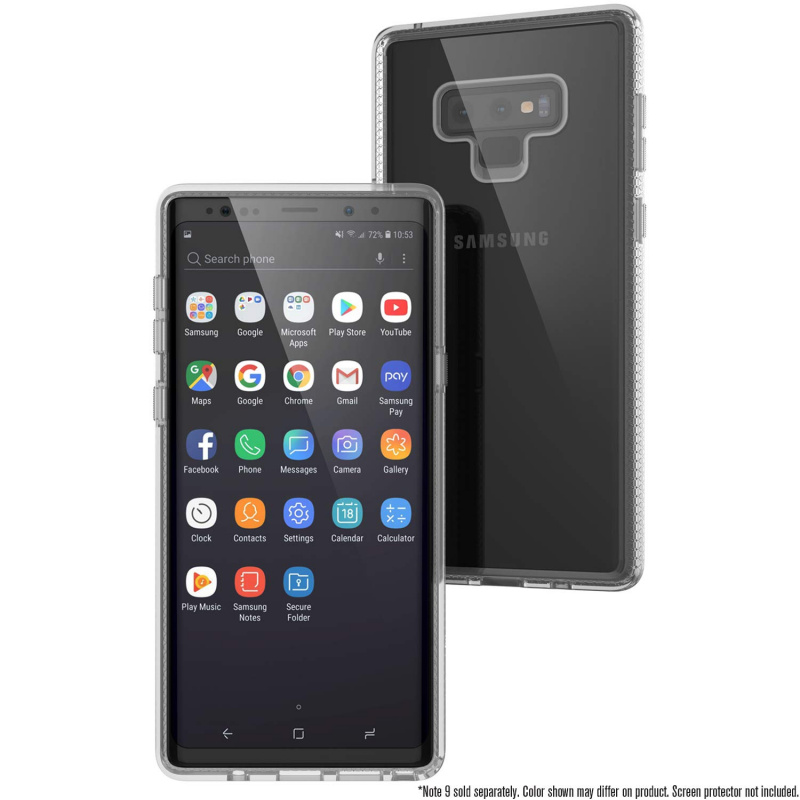 Catalyst Impact Protection Case for Samsung Galaxy Note9-Stealth Black/Blueridge Sunset/Clear