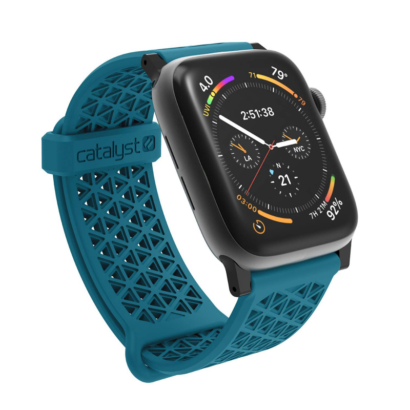 Catalyst Sports Bands for 38mm/42mm Apple Watch-Stealth Black/Space Gray/Blueridge Sunset/Army Green/Glacier Blue/ Sunset