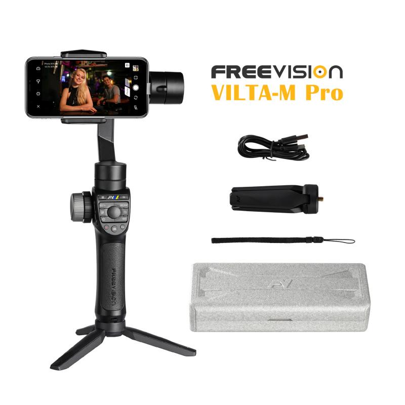 Freevision Vilta-M Pro 手機雲台3軸防震拍攝穩定器