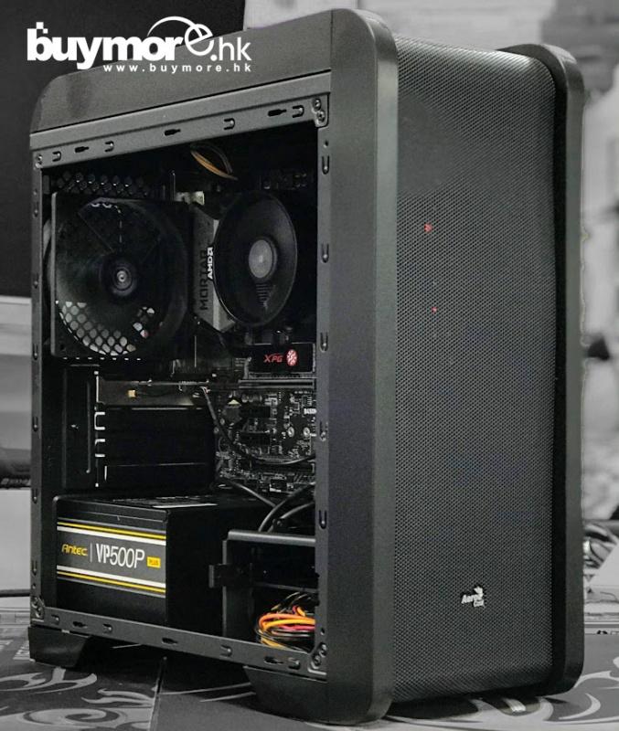 未來科技 AMD Ryzen 5 3400G / ASROCK B450M Steel Legend / G.Skill Aegis 3000 / ADATA SX6000 Lite 256G NVMe SSD / GIGABYTE AORUS RTX2070 SUPER / AEROCOOL QS-240機箱