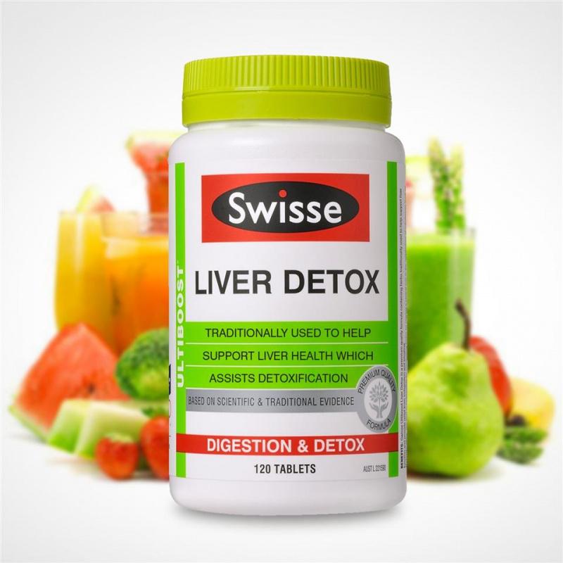 澳洲No.1維他命及保健食品品牌 Swisse LIVER DETOX 護肝排毒片~增量120片裝~
