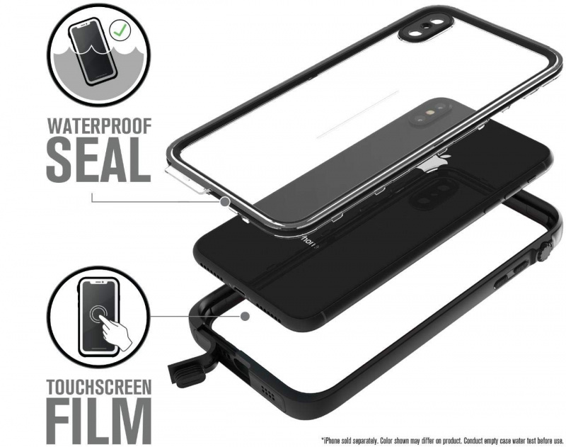 Catalyst Waterproof Case for iPhone Xs/Xr/Xs Max - Stealth Black