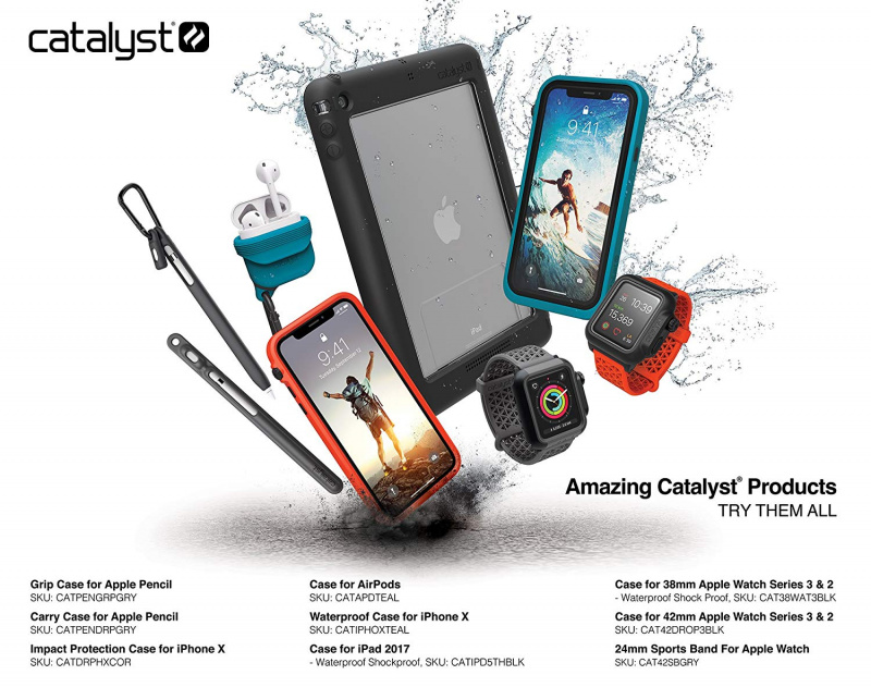 Catalyst Waterproof Case for iPhone 7 Plus/8 Plus - Stealth Black