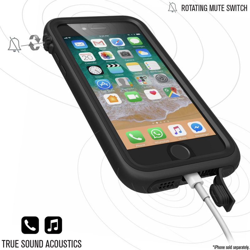 Catalyst Waterproof Case for iPhone 7/8 - Stealth Black