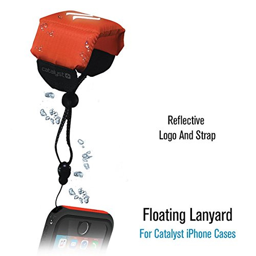 Catalyst Reflective Floating Lanyard - supports weight up to 350g - Orange