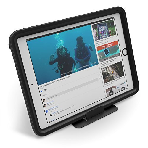 """Catalyst Waterproof Case for 9.7"""" iPad (5th & 6th Generation) - Stealth Black"""