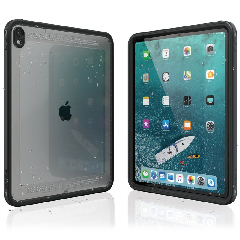 """Catalyst Waterproof Case for 12.9"""" iPad Pro - Stealth Black"""