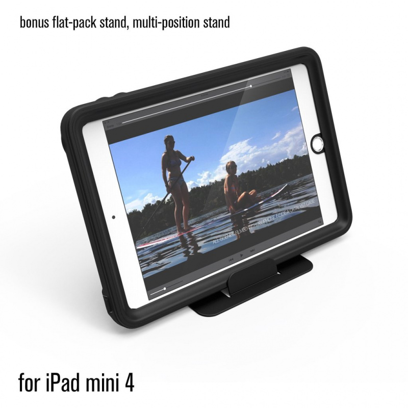 Catalyst Waterproof Case for iPad Mini 4 - Stealth Black