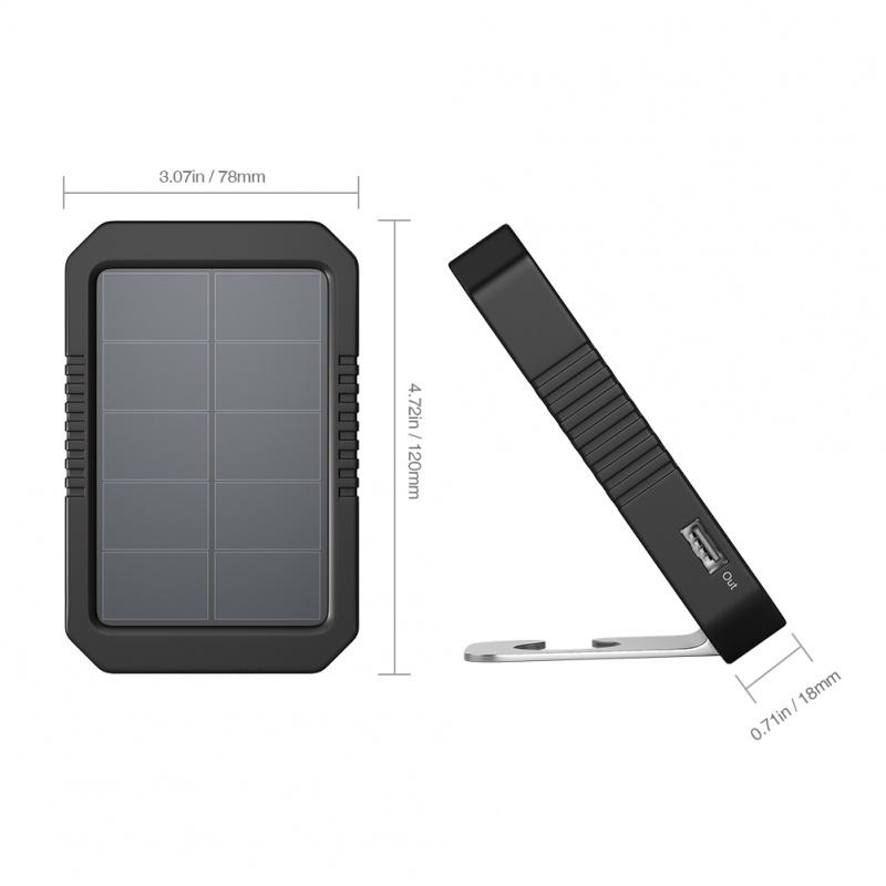 dodocool 4200mAh Portable太陽能充電器