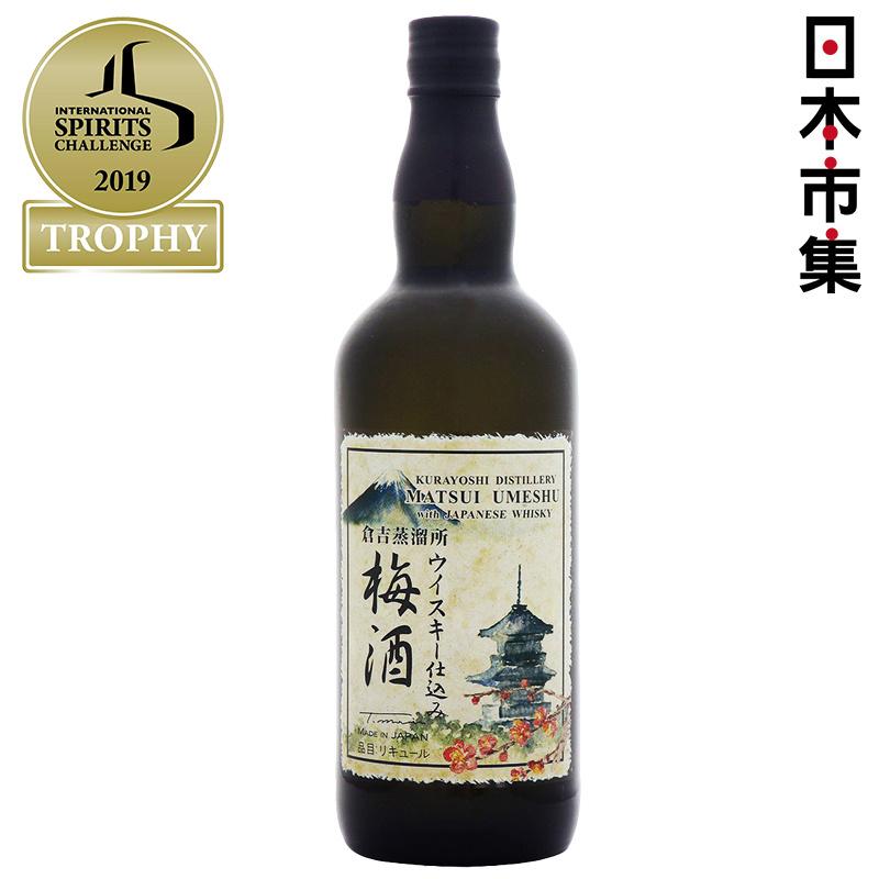 日版 倉吉蒸餾所 (最高金賞) 威士忌釀製梅酒 700ml