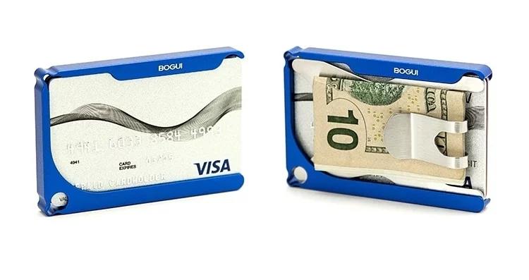 美國KEYSMART BOGUI CLIK WALLET金屬卡包 預訂:3-7天發出
