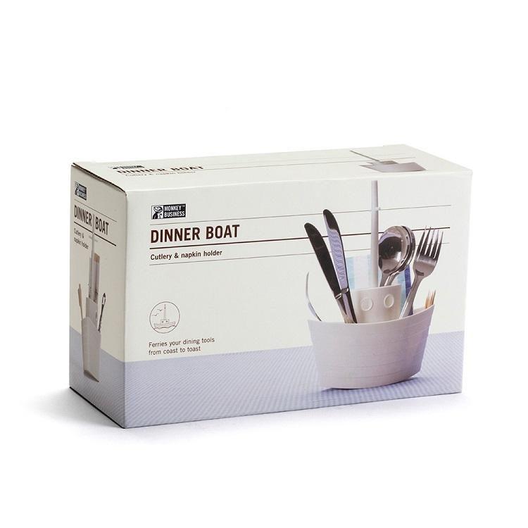 以色列Monkey Business Dinner Boat cutlery holder船形餐具架 預訂:3-7天發出