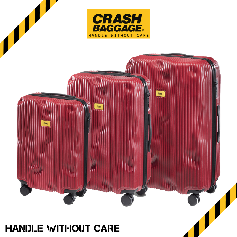 CRASH BAGGAGE - STRIPE RED
