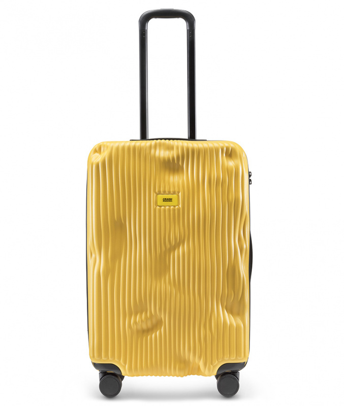 CRASH BAGGAGE - STRIPE  YELLOW