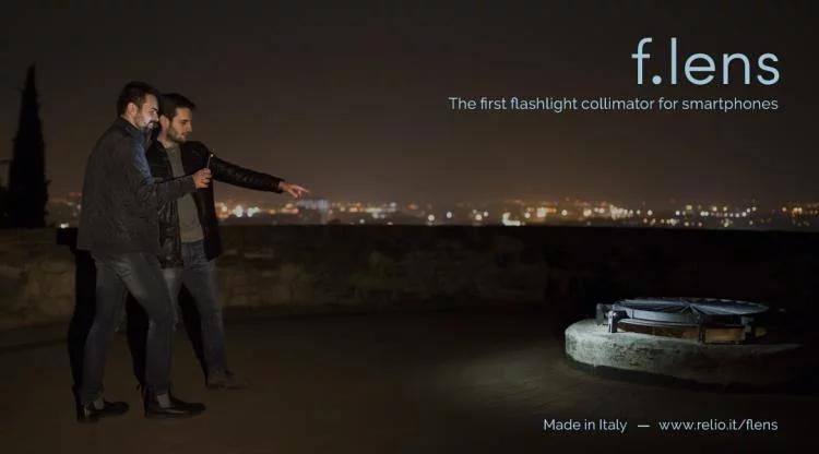 意大利Flens 迷你聚光燈 iPhone 補光神器 預訂:3-7天發出