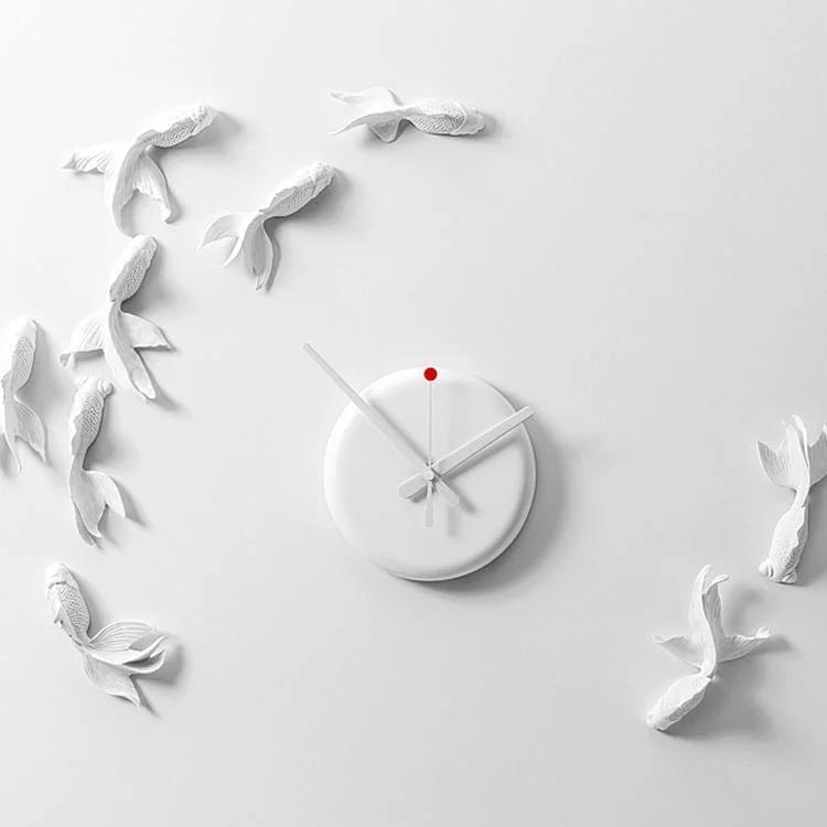 台灣Haoshi Goldfish X Clock金魚掛鐘 良事設計 預訂:3-7天發出
