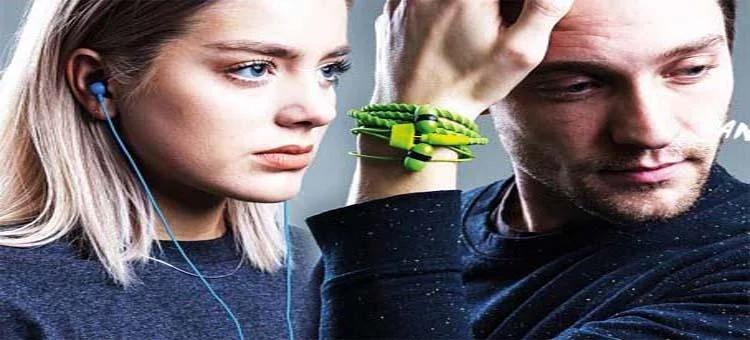 英國 Wraps 經典編織時尚手環式耳機 預訂:3-7天發出