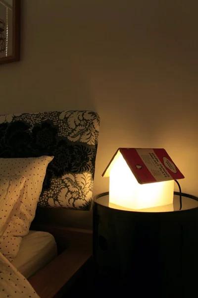 英國SUCK UK Book Rest Lamp 屋子床頭燈 書架燈 預訂:3-7天發出