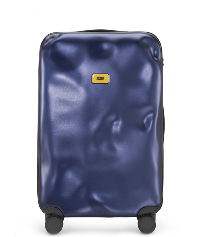 CRASH BAGGAGE - ICON METAL NAVY