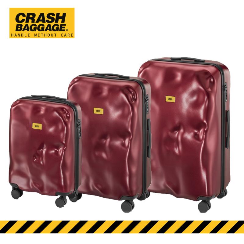 CRASH BAGGAGE - ICON METAL RED